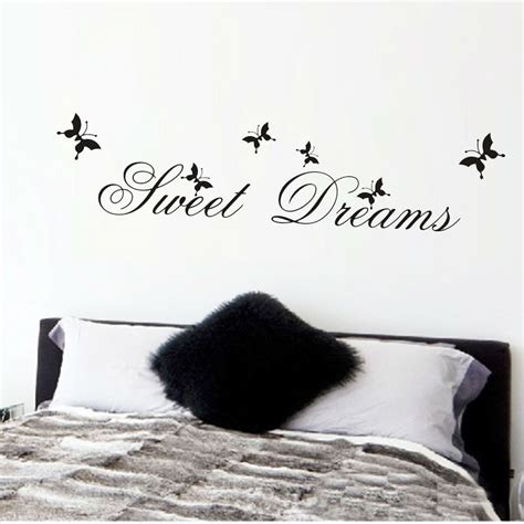 Sweet Dreams Wall Stickers sweet dreams quote wall sticker free shipping worldwide