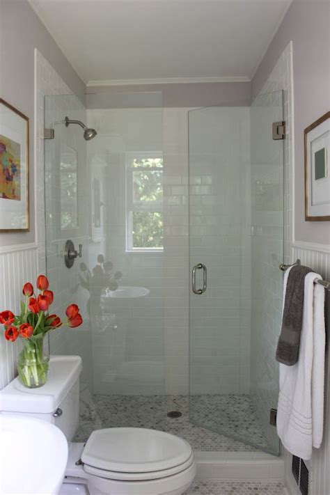 redoing a small bathroom 1000 ideas about small bathroom showers on pinterest