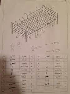 plan montage lit evolutif table de lit a roulettes