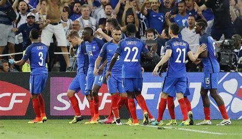 Francia Vs Peru Francia Venci 243 2 0 A Alemania Y Consigui 243 Su Pase A La