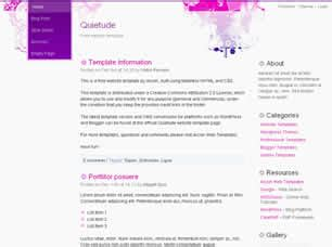 free css 2471 free website templates css templates and quietude free website template free css templates free css