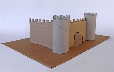 How To Make A Paper Castle - craftsboom defence castle