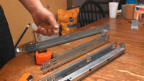 How To Install A Drawer Slide by How To Install Soft Drawer Slides
