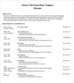 chef resume templates 9 chef resume templates documents in pdf