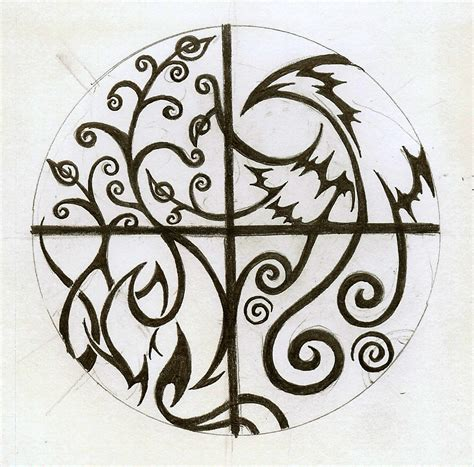 elemental tattoo again by cloudberg on deviantart