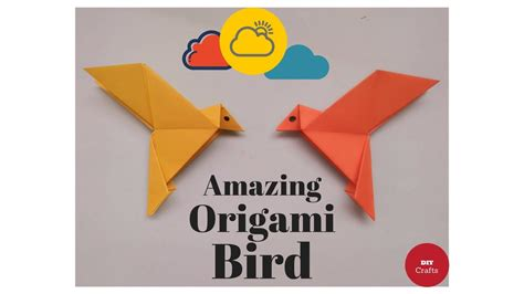 how to make a origami bird that flaps its wings how to make an origami bird paper bird origami flapping
