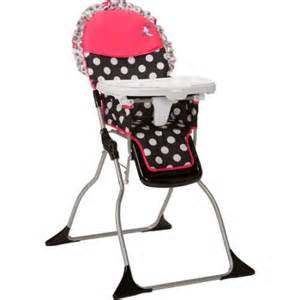 disney baby simple fold plus high chair minnie mouse