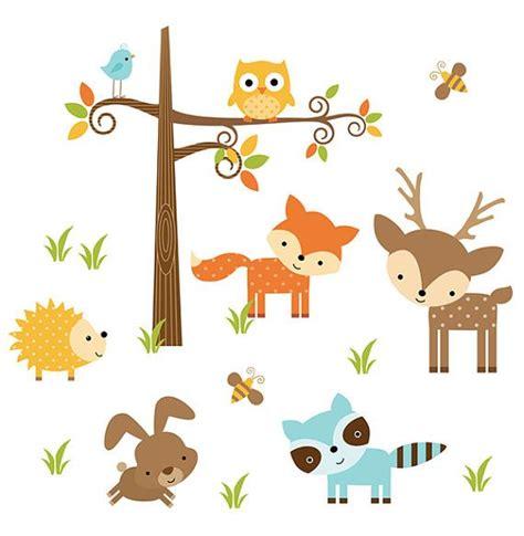 Woodland Animal Stickers