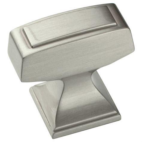 cabinet hardware brushed satin nickel knobs   ebay