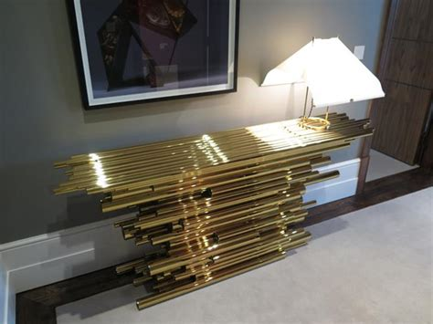 Pipe Interior by Modern Consoles For Your Luxury Interior Design Projects