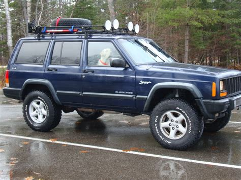 jeep xj stock 31 10 50 s on stock rims jeep cherokee forum