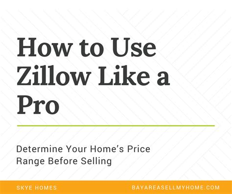 using zillow to determine what your home is worth