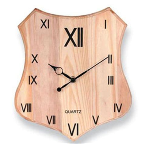 Handcrafted Wooden Clocks - handcrafted wooden clocks in kareli baugh indl estate