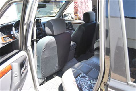 2006 Jeep Grand Seat Covers Jeep Commander 2006 2010 Leather Like Custom Seat Cover Ebay