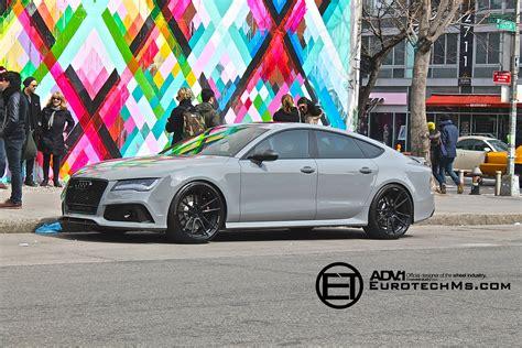 nardo grey nardo gray audi rs7 rides on adv 1 wheels autoevolution