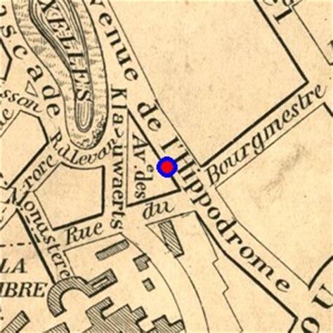 localisation de 'avenue géo bernier' sur 7 plans de bruxelles