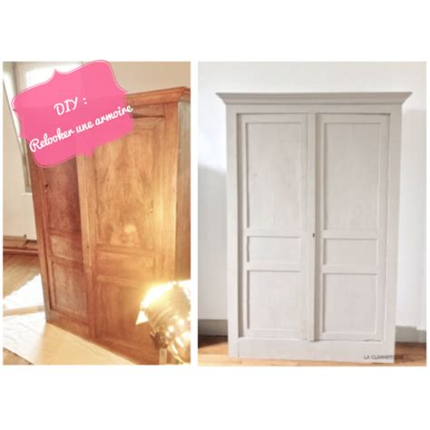 une armoire diy relooker une armoire ancienne la clamartoise