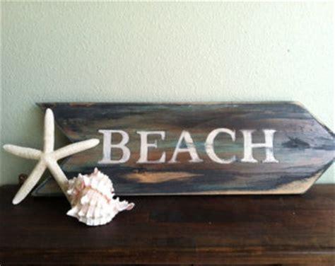 beach signs home decor popular items for beach house on etsy