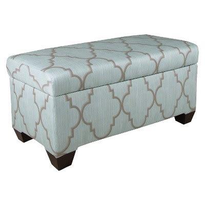 custom upholstered storage bench skyline custom upholstered storage bench target