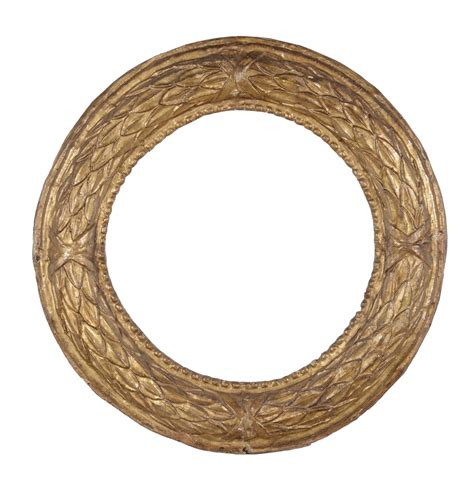 cornici tonde cornice tonda in cartapesta dorata xvii secolo cornici