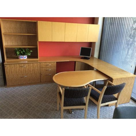 Used Geiger Executive Office Furniture Suites Office Furniture Suites