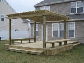 Photos Of Pergolas On Decks by Pergola Pictures Deck Images