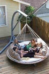 Patio Hammocks by 19 Cozy Outdoor Hanging Beds To Help You Enjoy The Summer