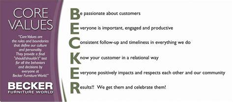 becker furniture world distribution center becker values becker furniture world cities