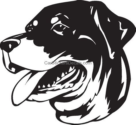 rottweiler stickers decals rottweiler sticker decal car stickers decals