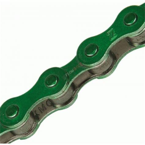 cadenas bici colores cadena kmc bmx s1 verde