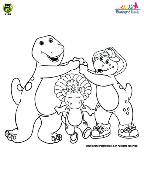 Go Barneys The Fall Barney Color by Barney And Friends Spatial Vocabulary Coloring Page