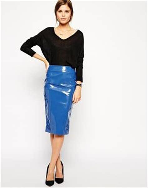 best pvc pencil skirt photos 2017 blue maize