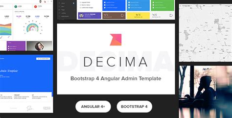 Decima Bootstrap 4 Angular Admin Template Nulled Download Angular Ecommerce Template