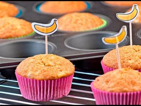 Banana Muffin Pisang eng sub resep muffin pisang banana muffins resep