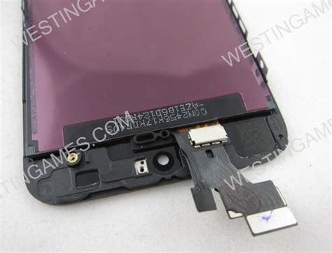 Paket 10 Unit Lcd Oem Iphone 5s front lcd screen display with touch screen digitizer