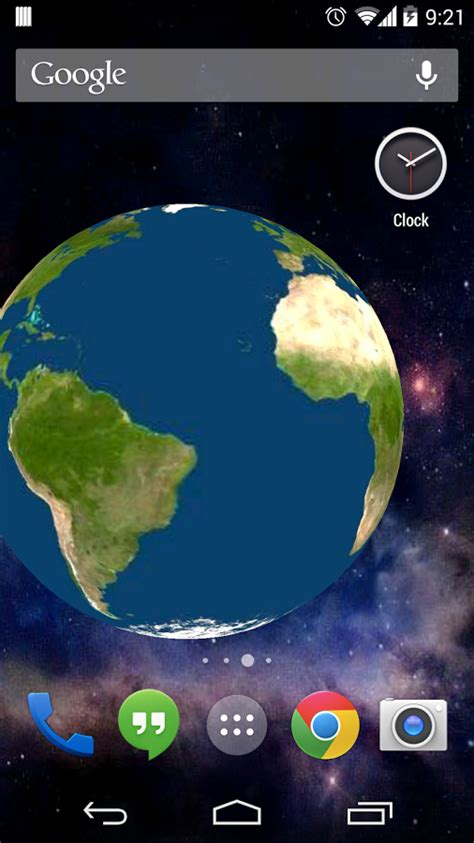 earth app for android rotating earth 3d wallpaper android apps on play