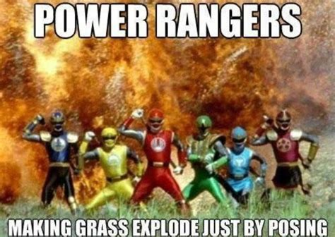 Power Rangers Meme - the power rangers always causing problems for firefighters