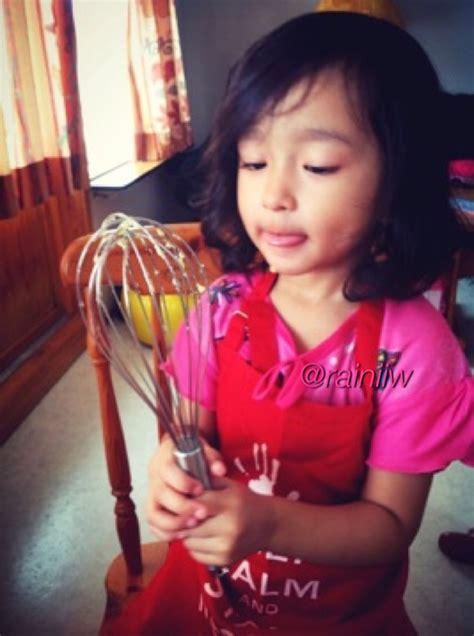 Kocokan Telur Kocokan Adonan Kue Gagang Warna Warni Cantik bake with alma rumahnya aini