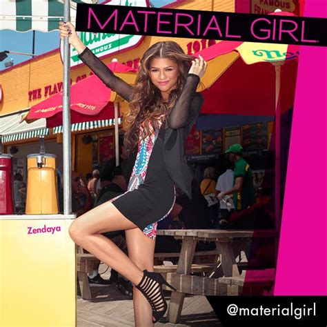 material girls blog branding power zendaya is the new face of madonna s