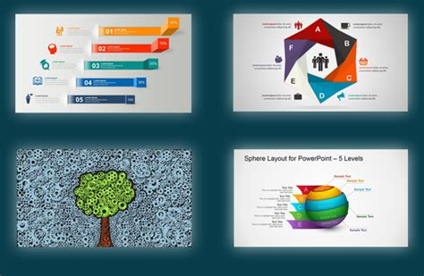 Best Powerpoint Templates Diagrams With Editable Shapes Best Templates For Ppt Free