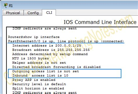 Sho Acl configure standard access list step by step guide