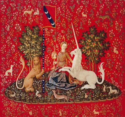 unicorn tapestry pattern scarlet quince cross stitch chart lady with unicorn