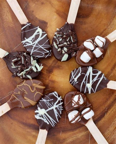 best 25 chocolate spoons ideas on pinterest diy