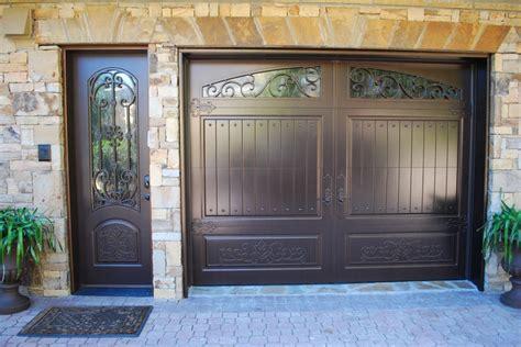 matching front door and garage door matching single garage door side door finished in