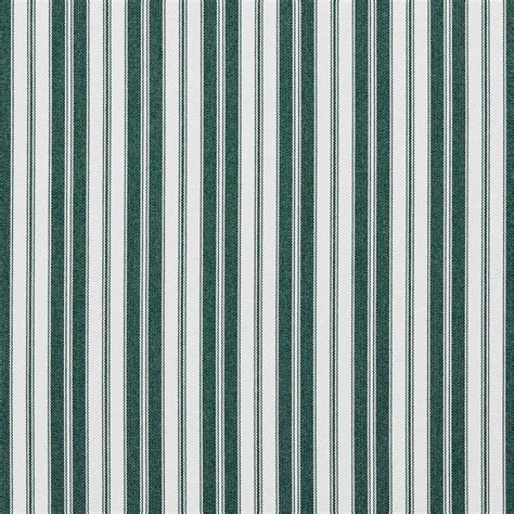 Striped Upholstery Fabrics by Green Ticking Striped Indoor Outdoor Acrylic Upholstery