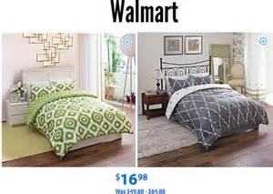 Bed Sheets Sale Walmart Walmart Comforter Bedding Sets 16 98 The