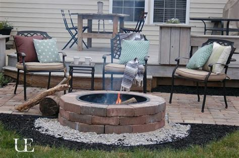 building a paver patio with pit diy paver patio and pit
