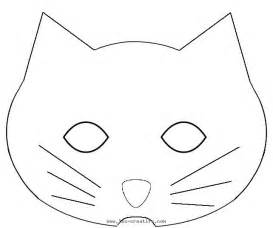 cat mask template pin cat mask templates for on