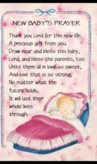 prayer for newborn words babies