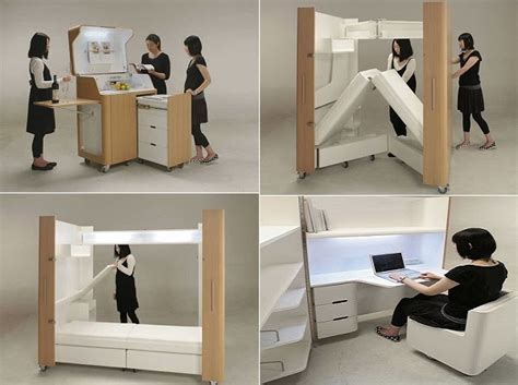 mobile folding furniture by a opa icreatived
